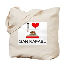 I Love San Rafael California Tote Bag