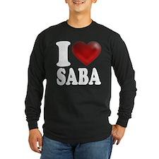 I Heart Saba Long Sleeve T-Shirt