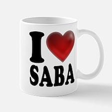 I Heart Saba Mugs