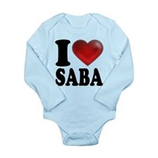 I Heart Saba Body Suit