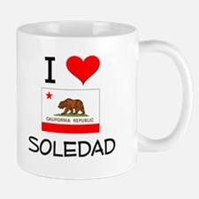 I Love Soledad California Mugs