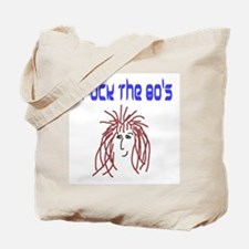 rock the 80's Tote Bag