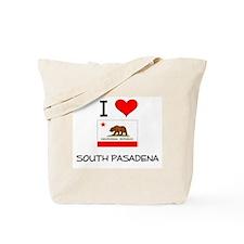 I Love South Pasadena California Tote Bag