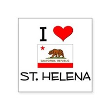 I Love St. Helena California Sticker
