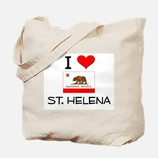 I Love St. Helena California Tote Bag