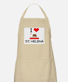 I Love St. Helena California Apron