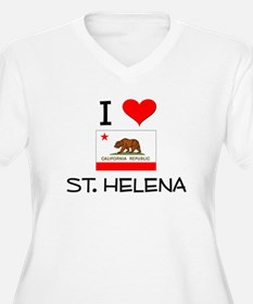 I Love St. Helena California Plus Size T-Shirt