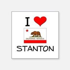 I Love Stanton California Sticker