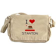I Love Stanton California Messenger Bag