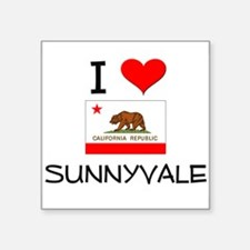 I Love Sunnyvale California Sticker