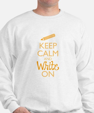 Keep Calm and Write On Jumper