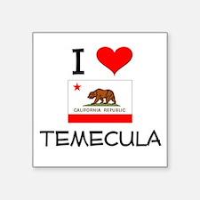 I Love Temecula California Sticker