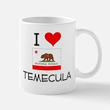 I Love Temecula California Mugs