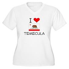 I Love Temecula California Plus Size T-Shirt
