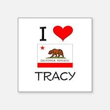 I Love Tracy California Sticker