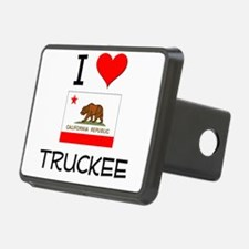 I Love Truckee California Hitch Cover