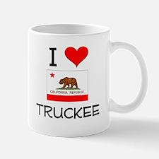 I Love Truckee California Mugs