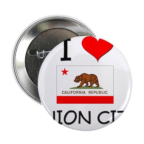 """I Love Union City California 2.25"""" Button"""