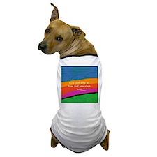 teacher aristotle Quote DUVET Dog T-Shirt