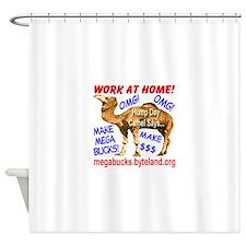 MegaBucks Camel Shower Curtain