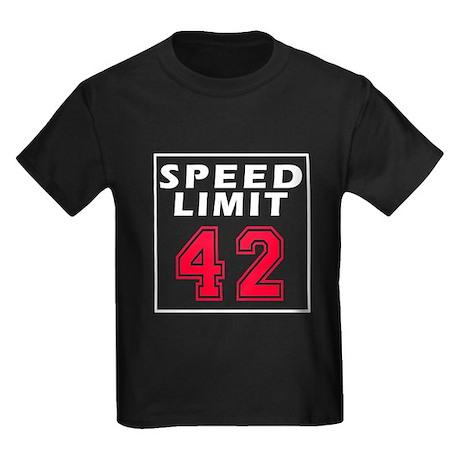 Speed Limit 42 Kids Dark T-Shirt