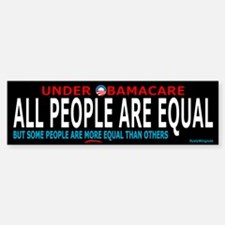 Obamacare Equality Bumper Bumper Bumper Sticker