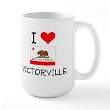 I Love Victorville California Mugs