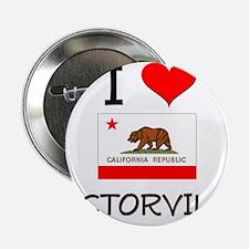 """I Love Victorville California 2.25"""" Button"""