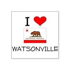 I Love Watsonville California Sticker