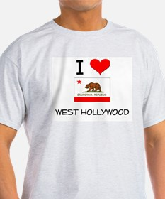 I Love West Hollywood California T-Shirt