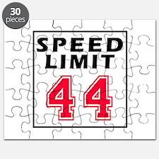 Speed Limit 44 Puzzle