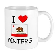 I Love Winters California Mugs
