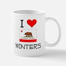 I Love Winters California Mugs