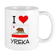 I Love Yreka California Mugs