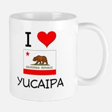 I Love Yucaipa California Mugs