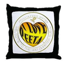 I Love Peeta Heart Throw Pillow