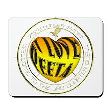 I Love Peeta Heart Mousepad