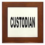 Custodian Framed Tile