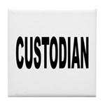 Custodian Tile Coaster