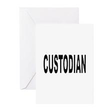 Custodian Greeting Cards (Pk of 10)