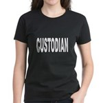 Custodian (Front) Women's Dark T-Shirt