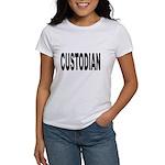 Custodian (Front) Women's T-Shirt