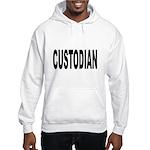 Custodian (Front) Hooded Sweatshirt