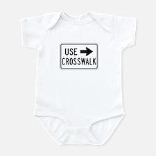 Use Crosswalk - USA Infant Bodysuit