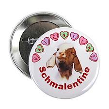 Goat Valentine Schmalentine Button