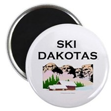 "TOP Ski Dakotas 2.25"" Magnet (10 pack)"
