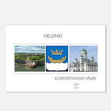 Helsinki souvenirs Postcards (Package of 8)