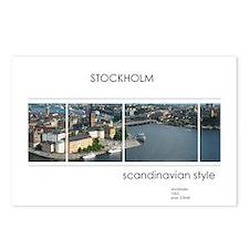 Stockholm souvenirs Postcards (Package of 8)