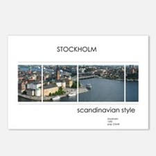 Stockholm souvenirs Postcards (Package of 8)