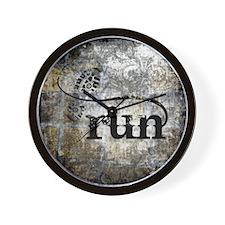 Grunge 26.2 Wall Clock